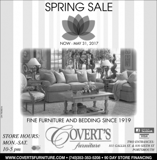 Spring Sale Furniture And Furnishings