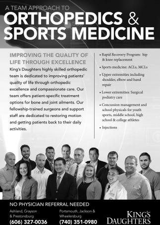 Orthopedic & Sports Medicine