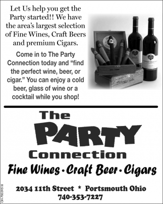 Fine Wines, Craft Beer, Cigars