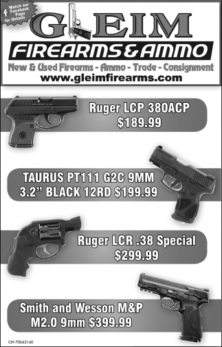 New & Used Firearms - Ammo - Trade - Consignment