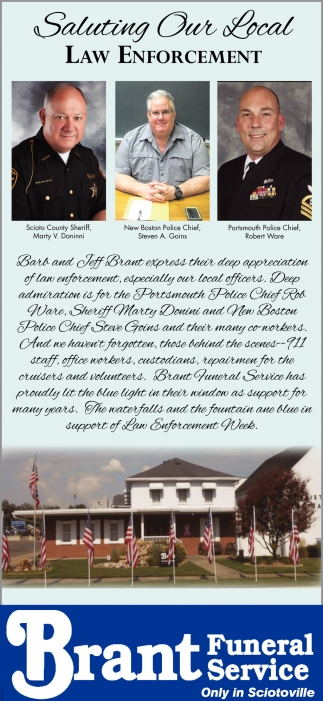 Saluting Our Local Law Enforcement