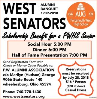 West Senators Alumni Banquet