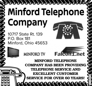 Customer service for over 60 years!
