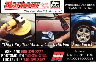 Auto & Truck Parts, Automotive Machine Shop, Computerized Paint Matching Tools