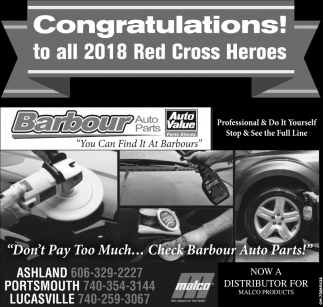 Congratulations to all 2018 Red Cross Heroes
