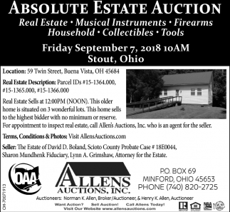 Absolute Estate Auction
