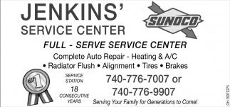Full - Serve Service Center