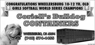Congratulations Wheelersburg!