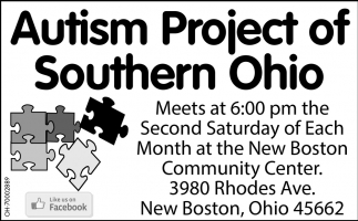 Meets at 6:00 pm the Second Saturday of each month at the New Boston Community Center.