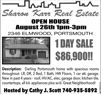 2346 Elmwood, Portsmouth