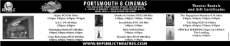 Portsmouth 8 Cinemas