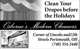Clean Your Drapes before the Holidays