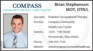 Brian Stephenson MOT, OTR/L