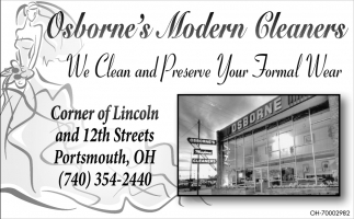 We Clean and Preserve Your Formal Wear