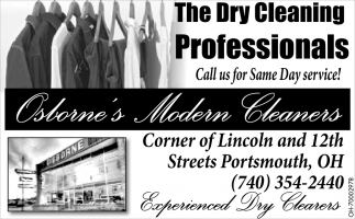 The Dry Cleaning Professionals