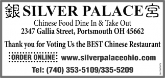 Chinese Food Dine In & Take Out