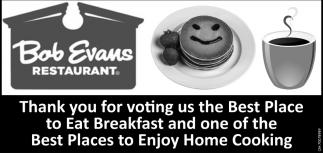 Best Place to Eat Breakfast