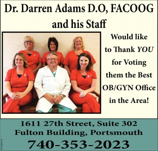 Best OB/GYN Office in the Area!