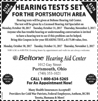 Hearing Test Set
