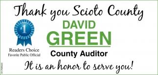 Thank you Scioto County