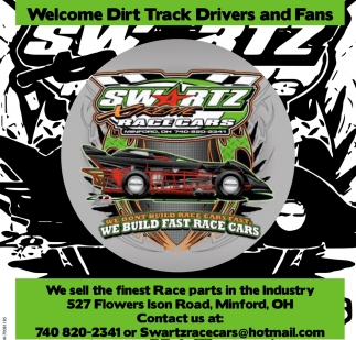 Welcome Dirt Track Drivers and Fans