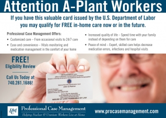 FREE in-home care