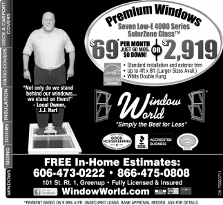 Premium Windows $69 per month