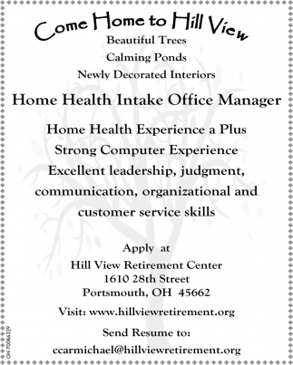 Independent living, assisted living, nursing home care, rehabilitation, and memory support
